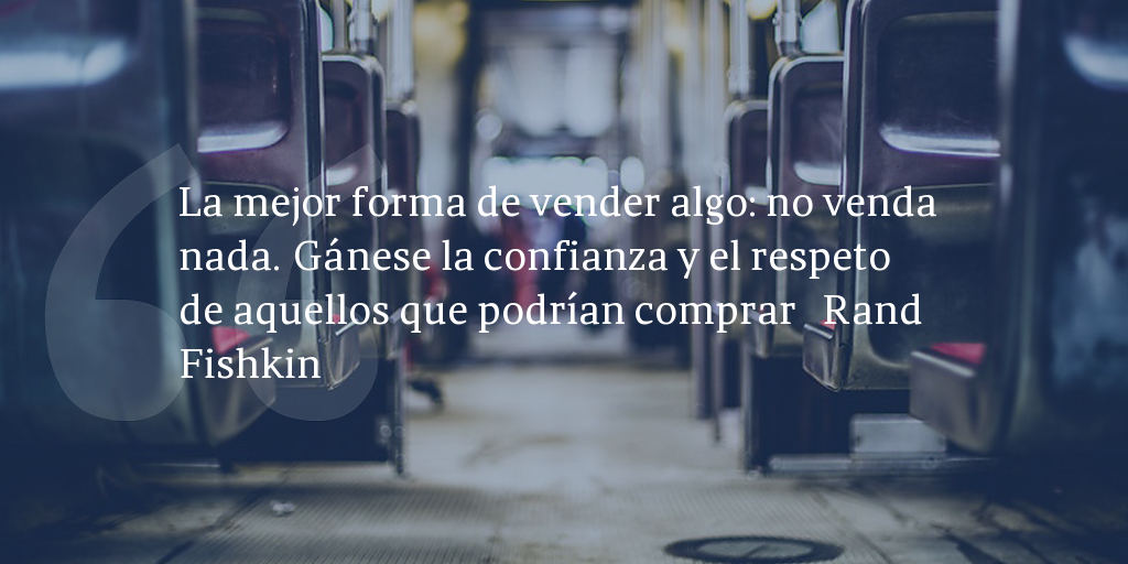 Frase de inbound marketing de Rand Fishkin