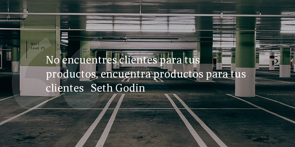 Frase de inbound marketing de Seth Godin