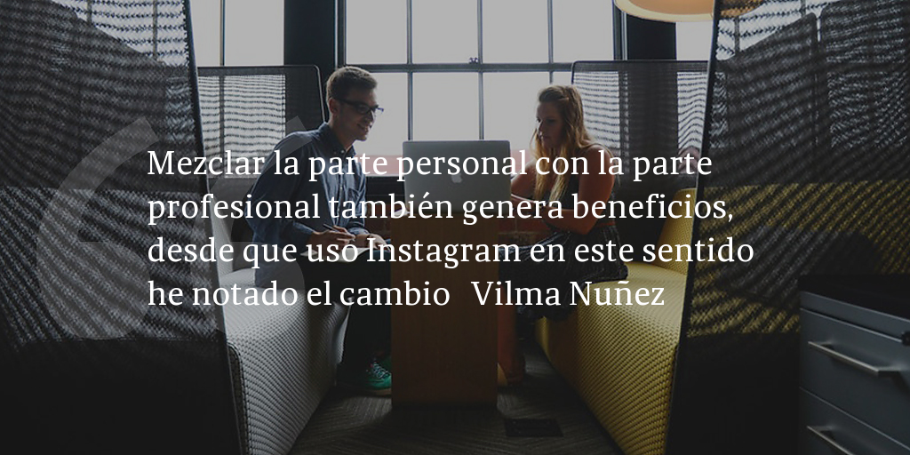 Frase de inbound marketing de Vilma Nuñez