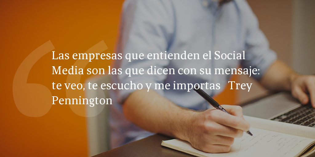 Frase de inbound marketing de Trey Pennington