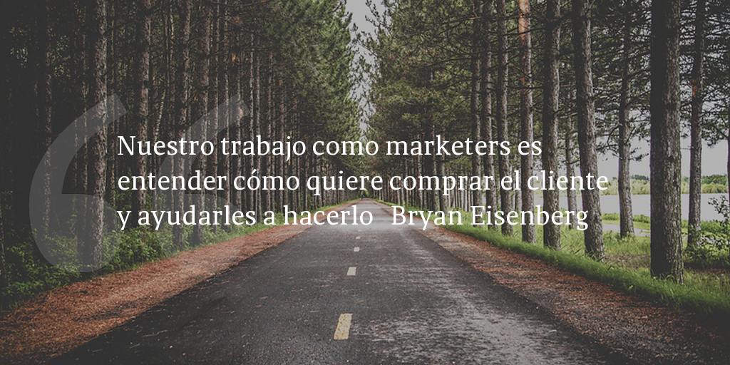 Frase de inbound marketing de Bryan Eisenberg