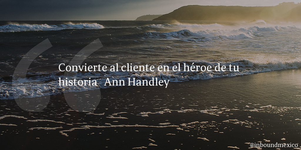 Frase de inbound marketing de Ann Handley