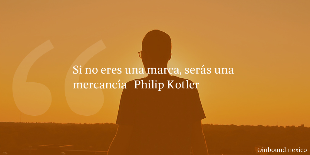 Frase de inbound marketing de Philip Kotler