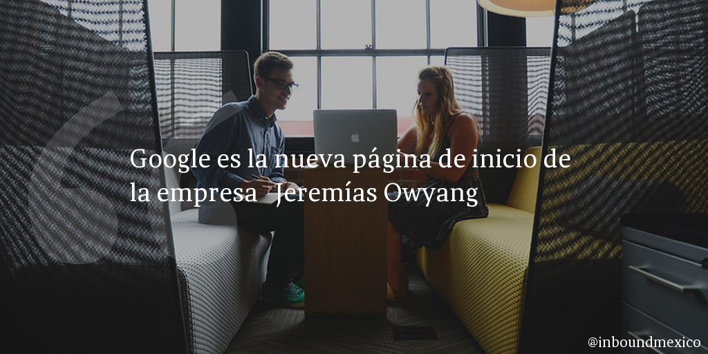 Frase de inbound marketing de Jeremías Owyang