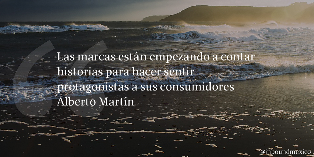 Frase de inbound marketing de Alberto Martín