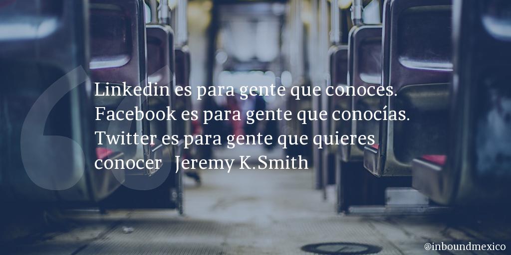 Frase de inbound marketing de Jeremy K.Smith