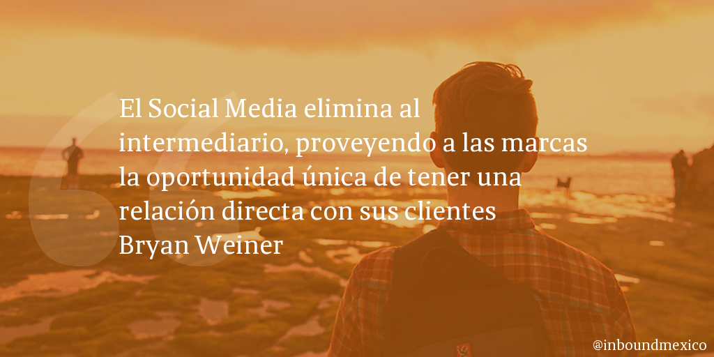 Frase de inbound marketing de Bryan Weiner