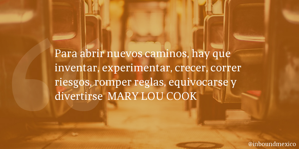 Frase de inbound marketing de 9