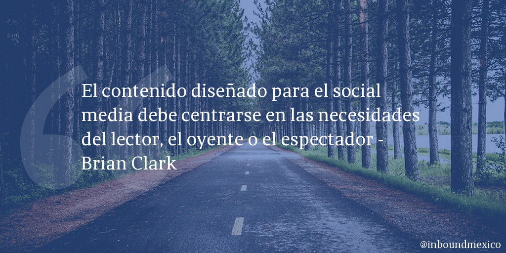Frase de inbound marketing de Brian Clark