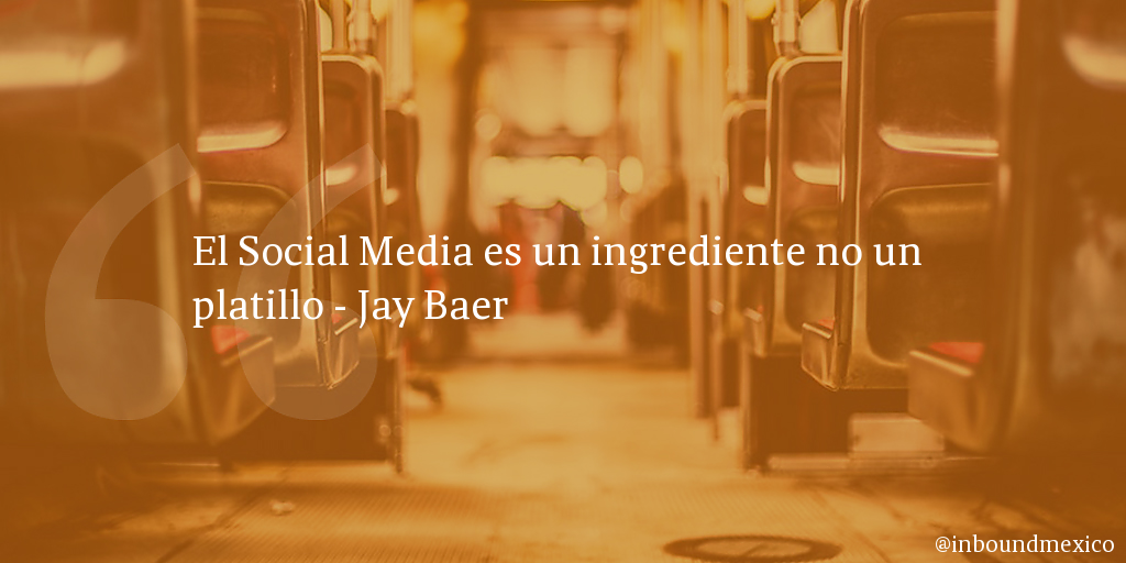 Frase de inbound marketing de Jay Baer