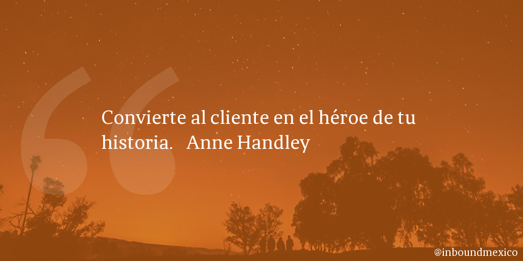 Frase de inbound marketing de Anne Handley