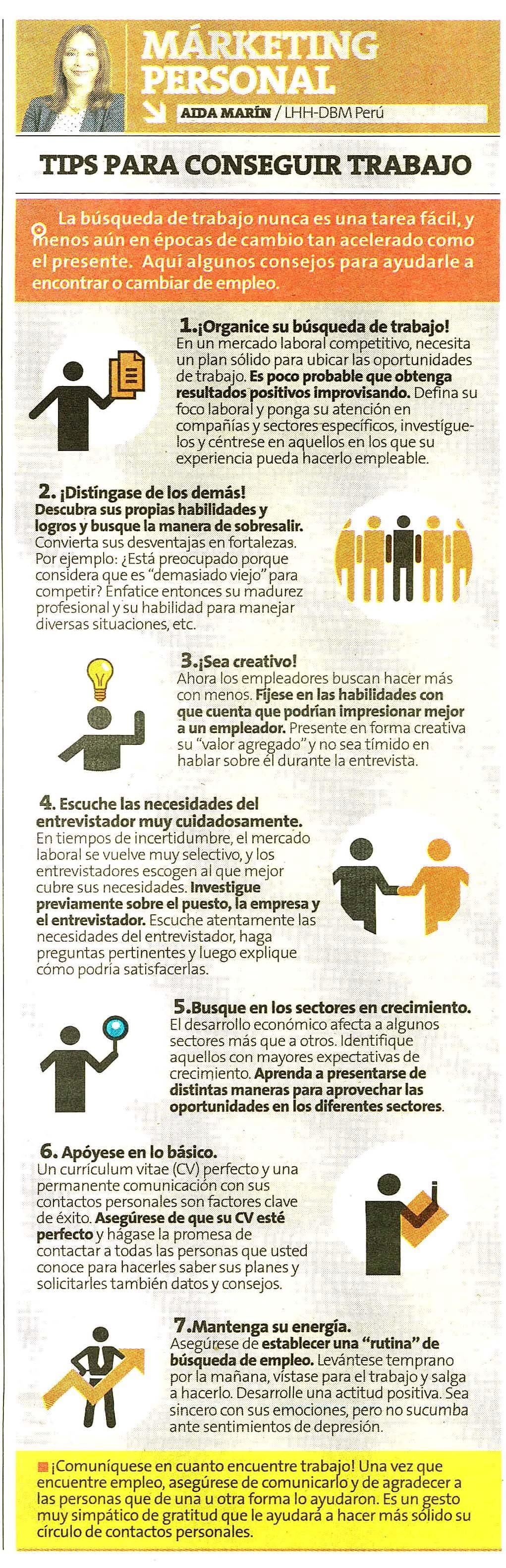 Infografía sobre Empleo