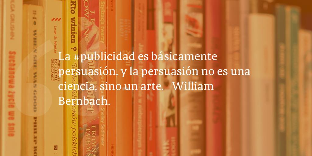 Frases De Inbound Marketing William Bernbach La
